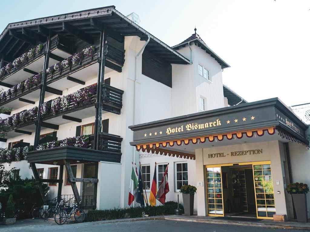 Hotel Bismarck Außenansicht