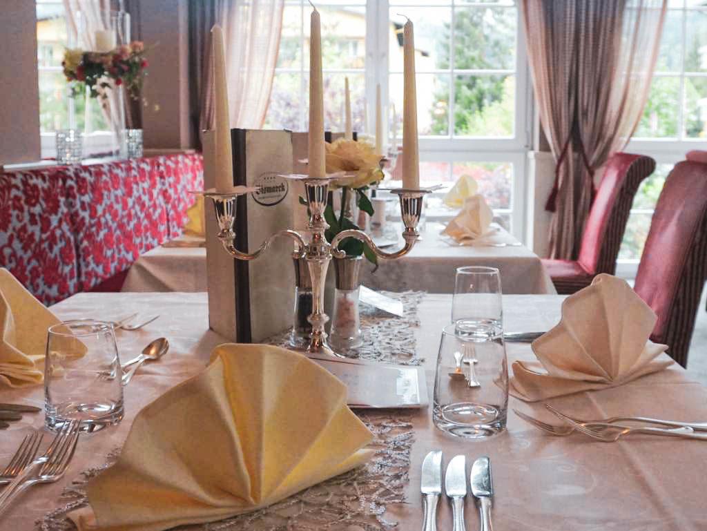 Restaurant im Hotel Bismarck