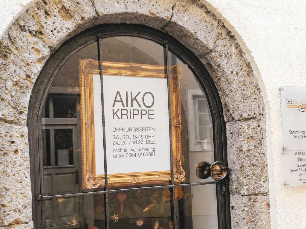 Eingang zur AIKO Krippe
