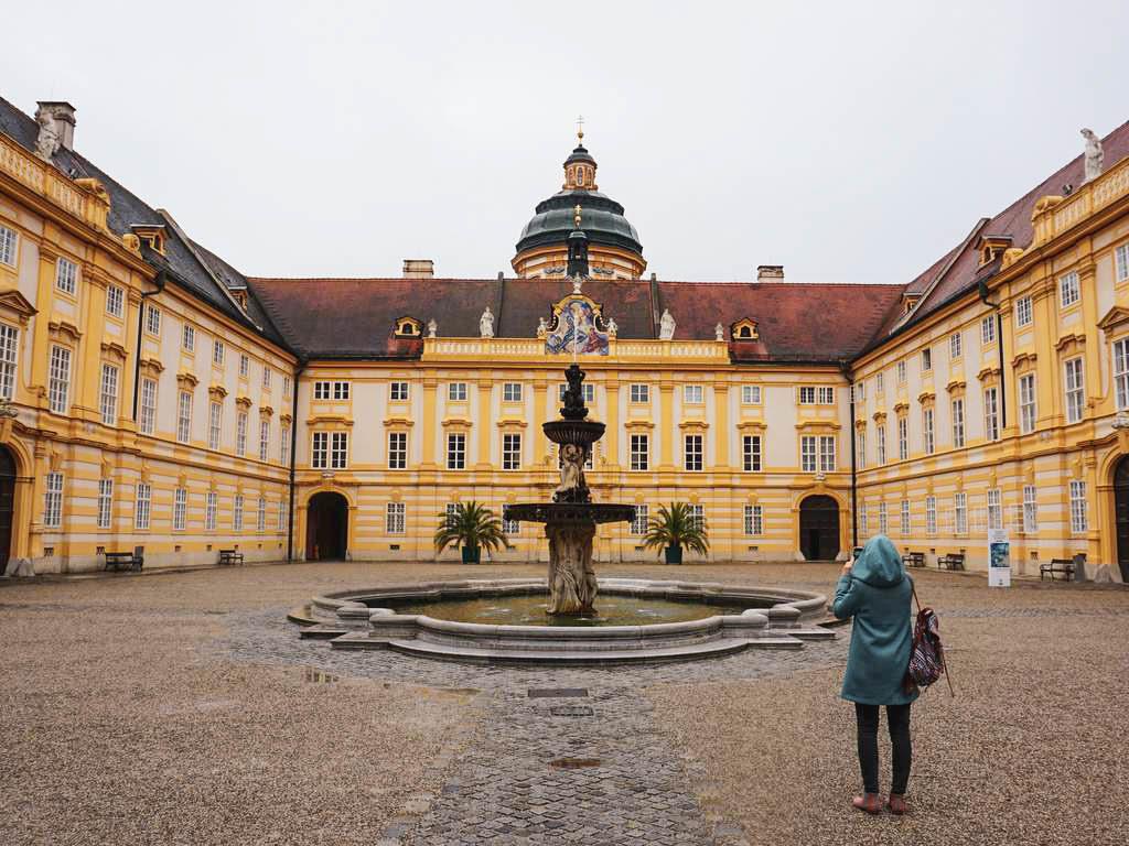 Innenhof Stift Melk
