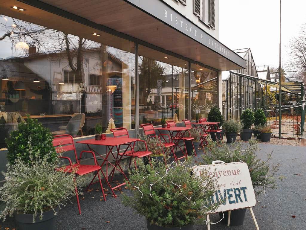 Aussenbereich Chez Aurelie