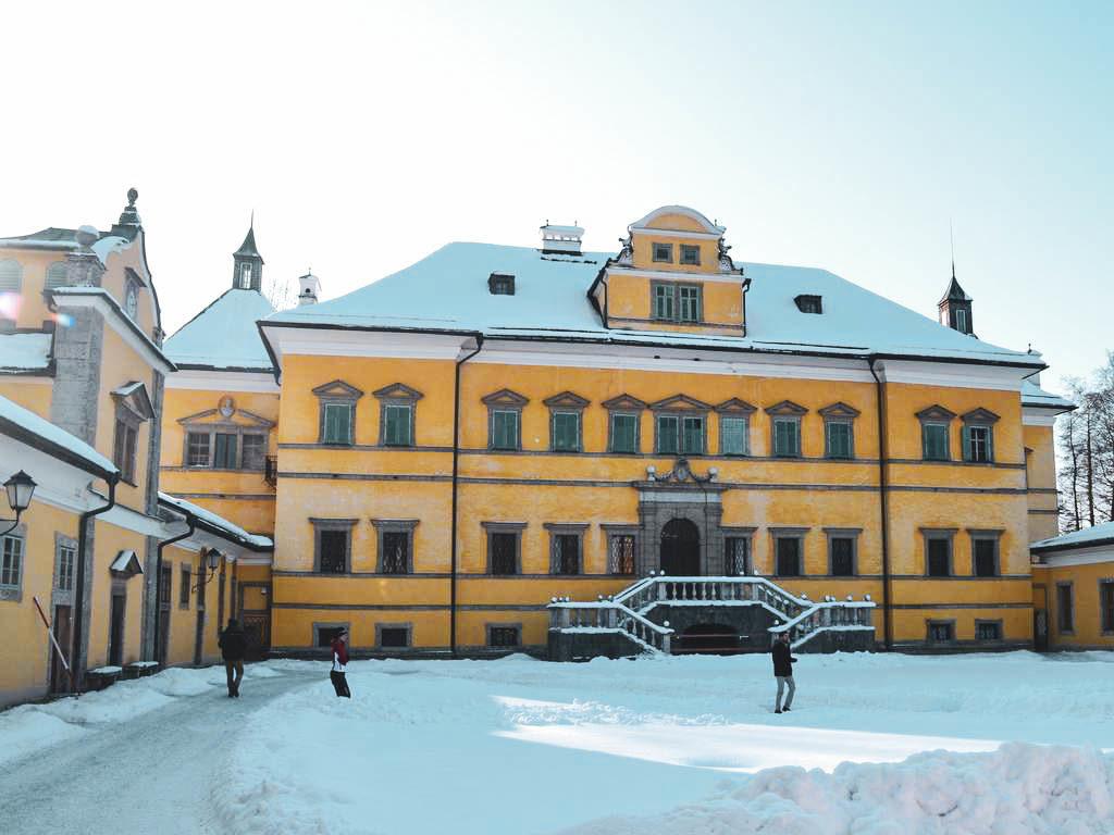 Schloss Hellbrunn im Winter