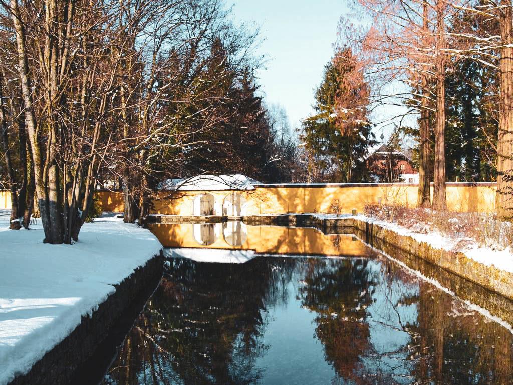 Schlosspark in Hellbrunn