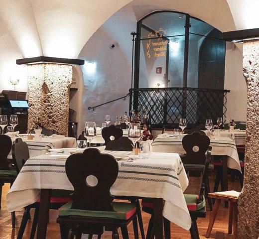 Das Restaurant Goldener Hirsch in Salzburg