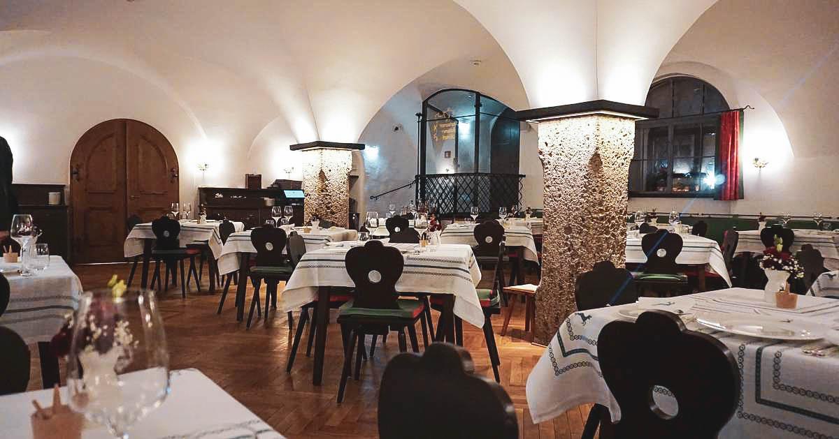 Das Restaurant Goldener Hirsch in Salzburg | claudiaontour