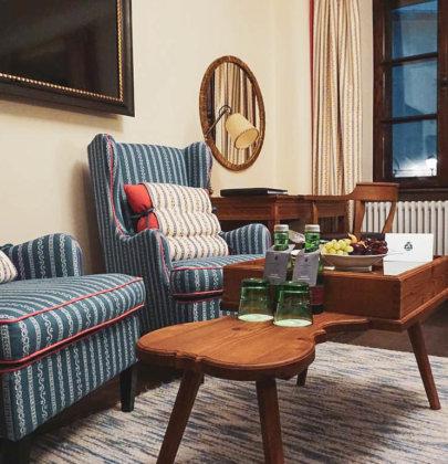 Sleep in your own city, oder eine Nacht im Luxus Hotel Goldener Hirsch