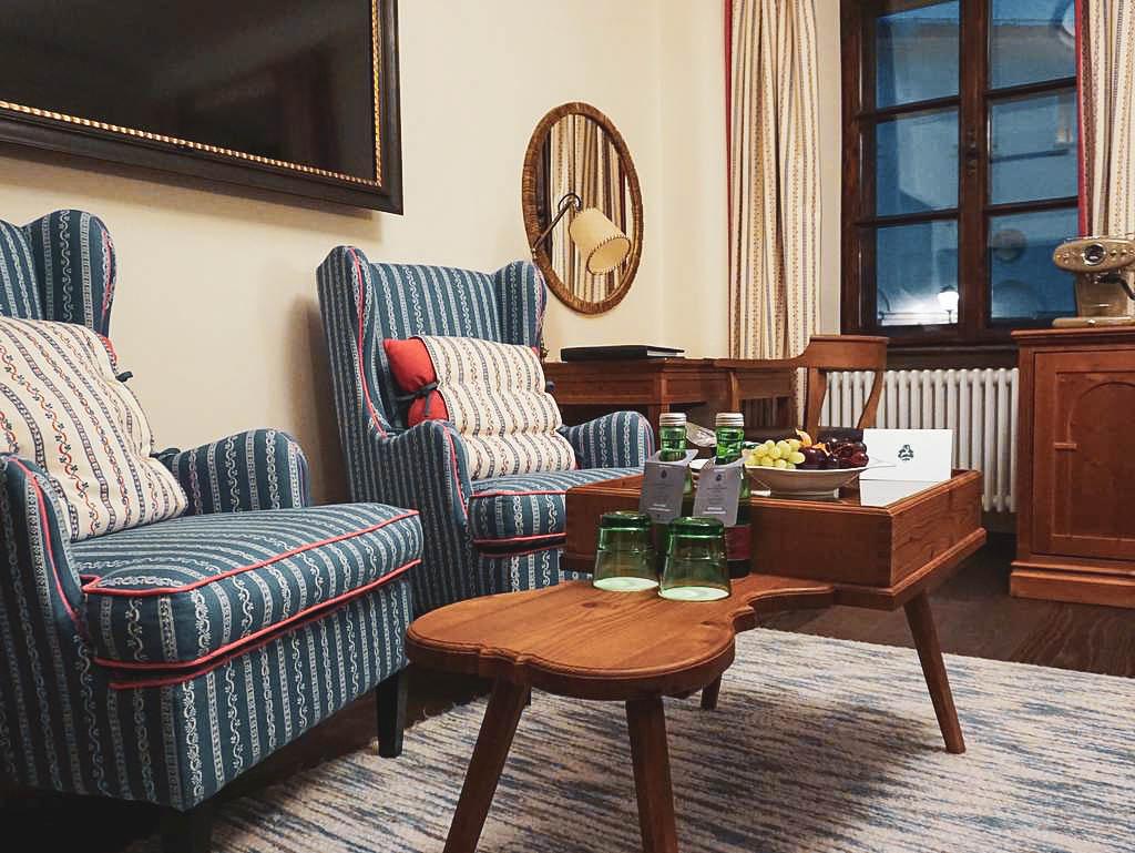 Zimmer im Hotel Goldener Hirsch