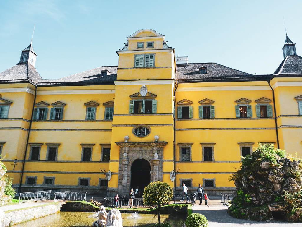 Schloss Hellbrunn Rückseite