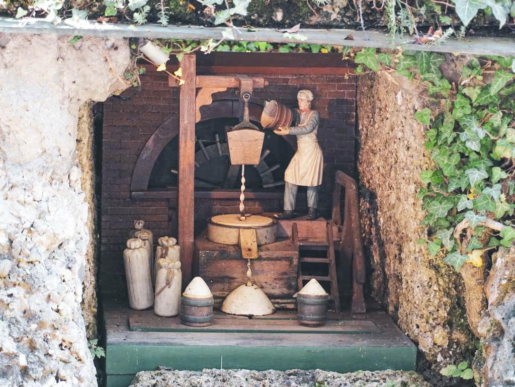 Grotte Hellbrunn Wasserspiele