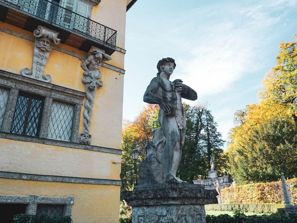 Statue Schloss Hellbrunn