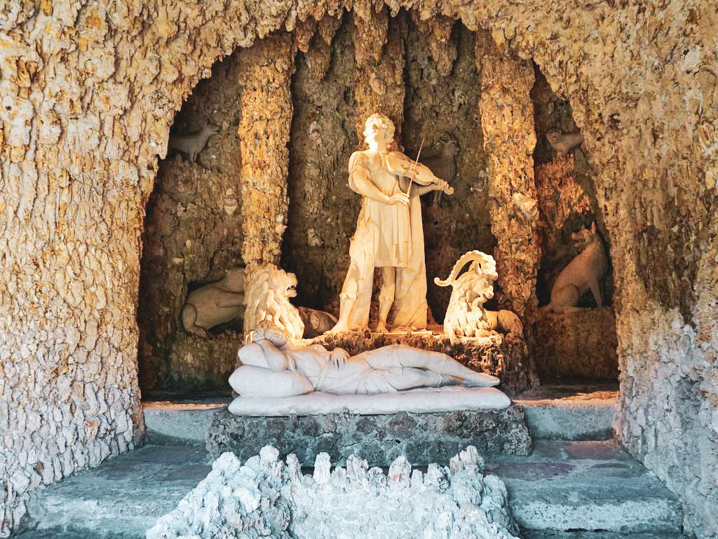 Grotte Wasserspiele Hellbrunn