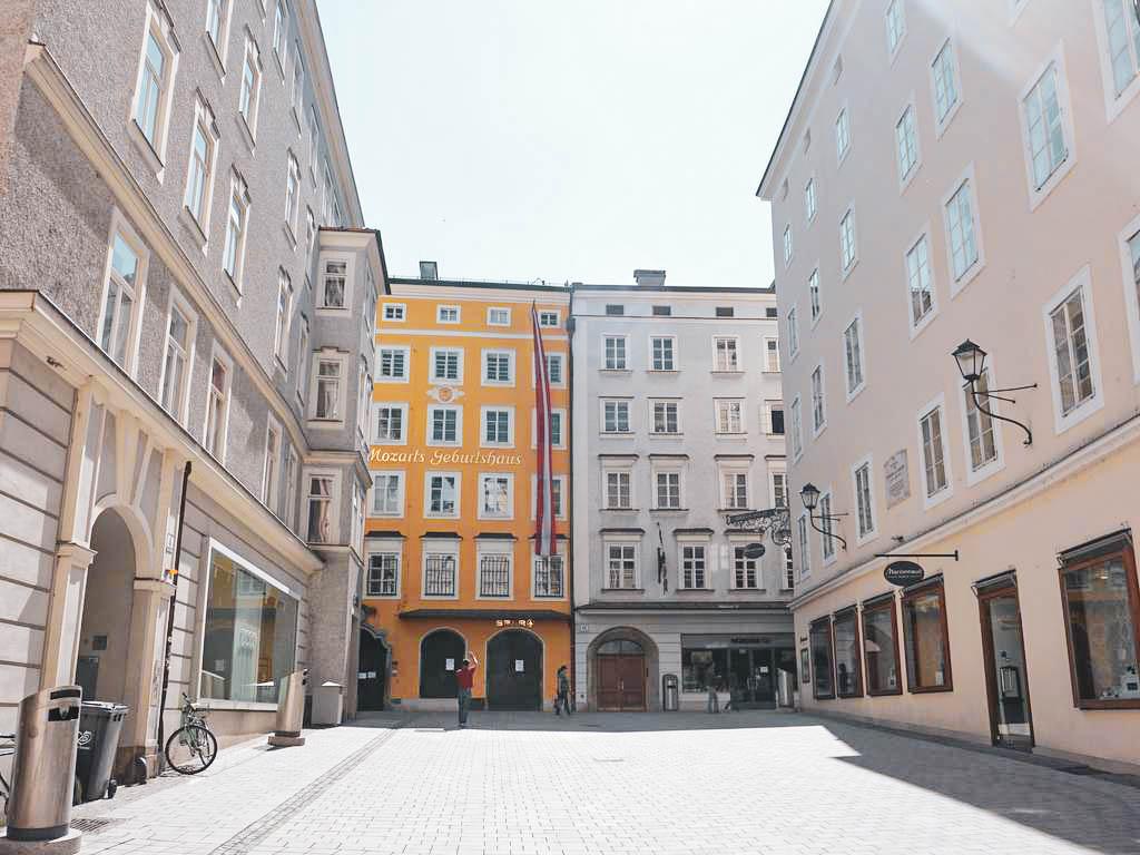Mozart Geburtshaus