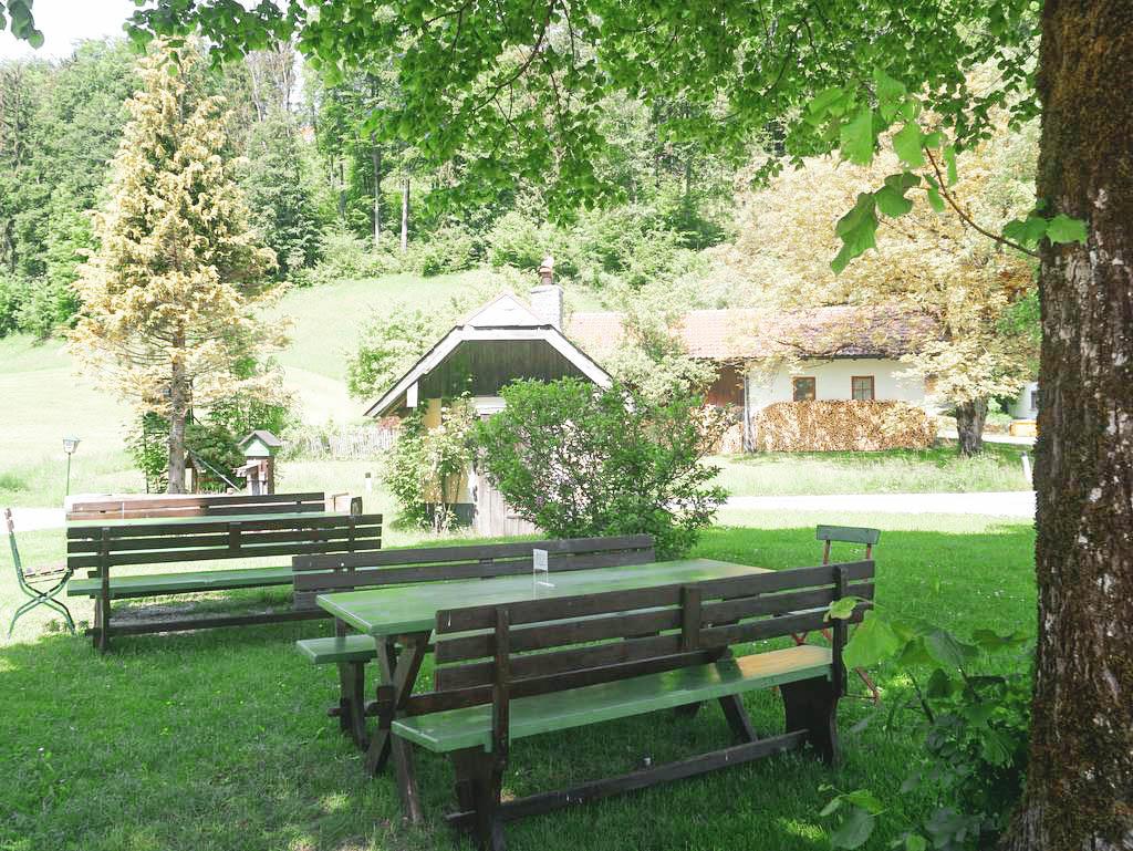 Gastgarten Die Ramsau