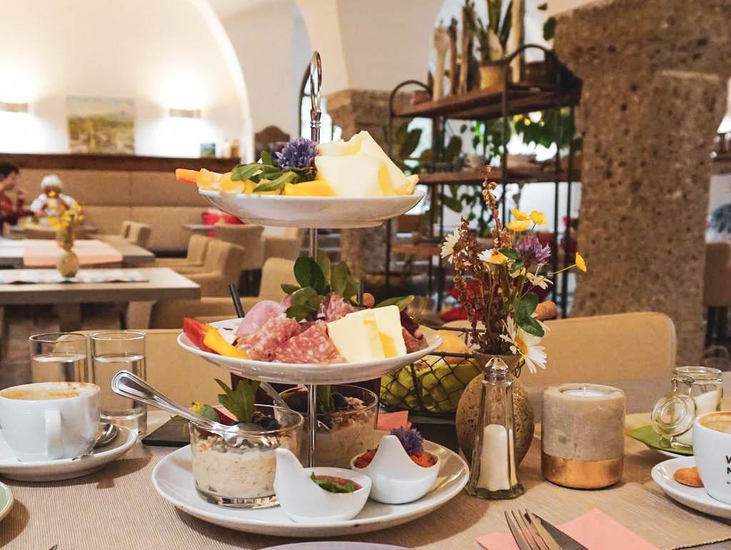 Schloss Frühstück