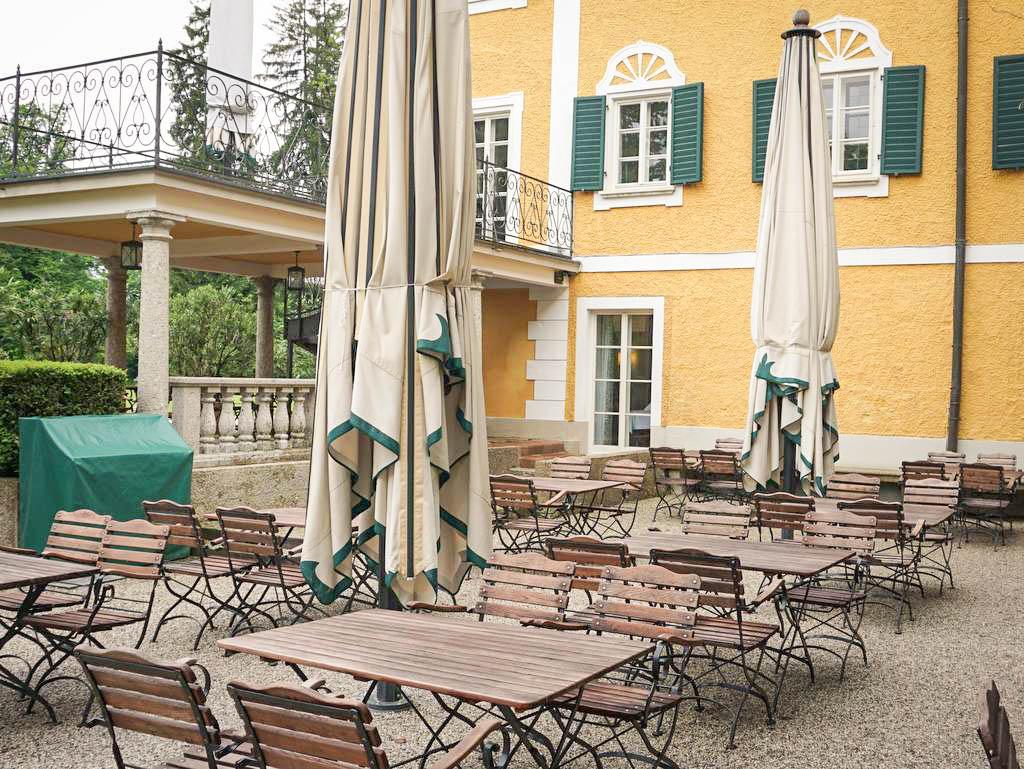 Terrasse Reinhartshuber im Gwandhaus
