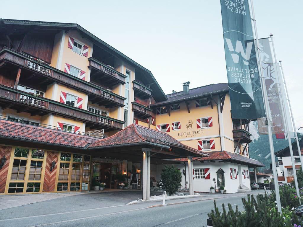 Hotel Post Eingangsbereich