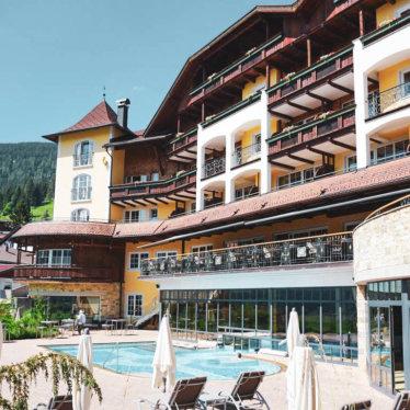 Entspannung pur im Tiroler Außerfern; Hotel Post in Lermoos