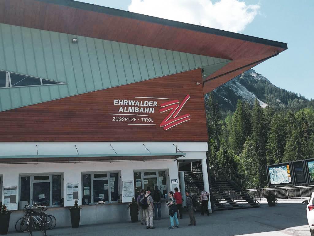 Talstation Ehrwalder Almbahn