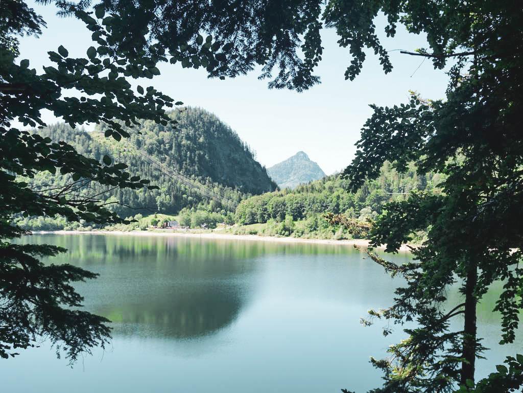 Ausflug ins Salzkammergut; rund um den Schwarzensee bei Sankt Wolfgang