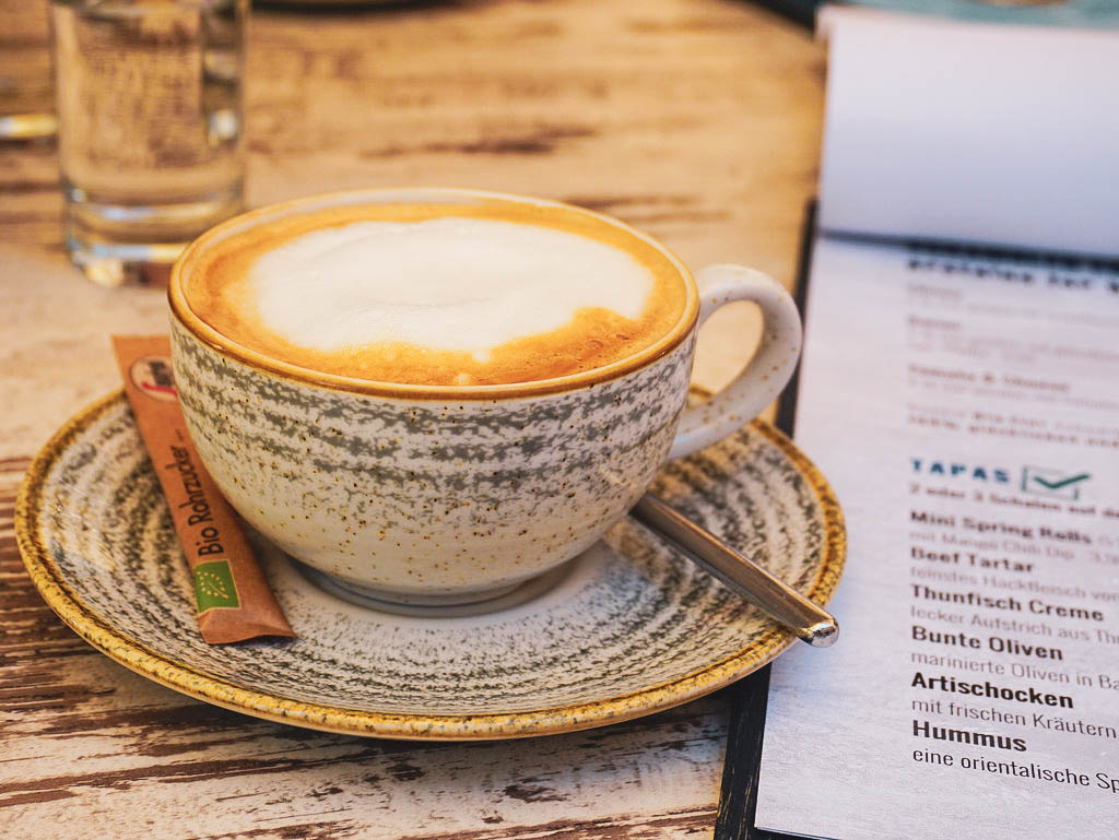 Kaffeetasse mit Cappuccino