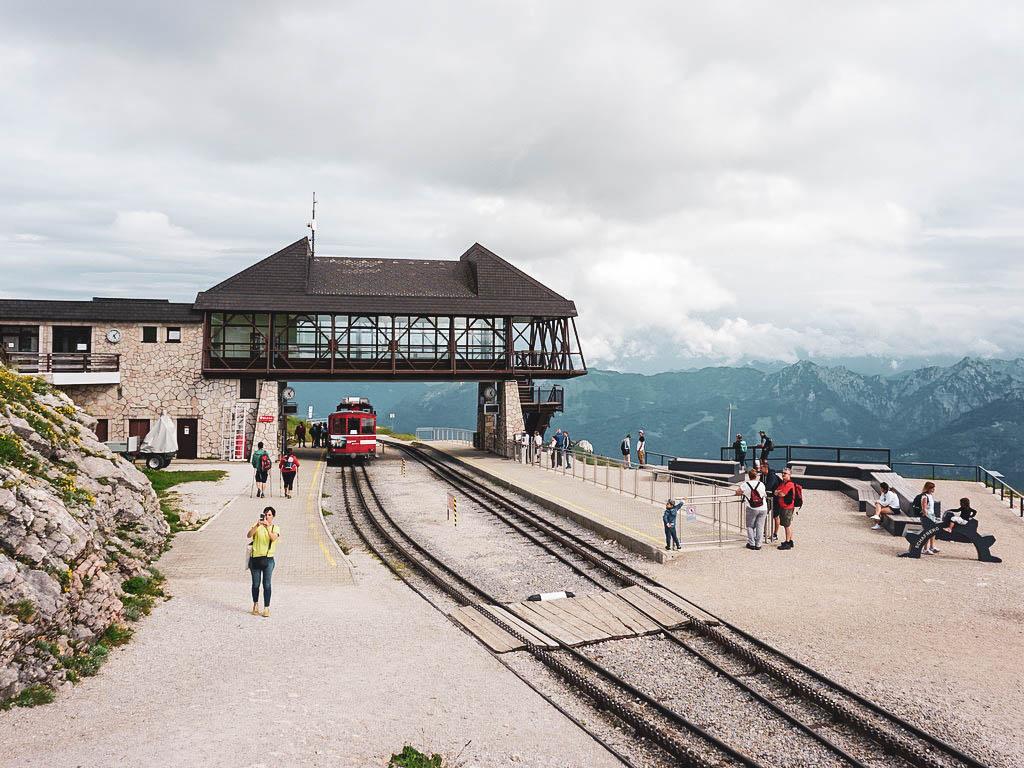 Schafbergbahn Bergstation