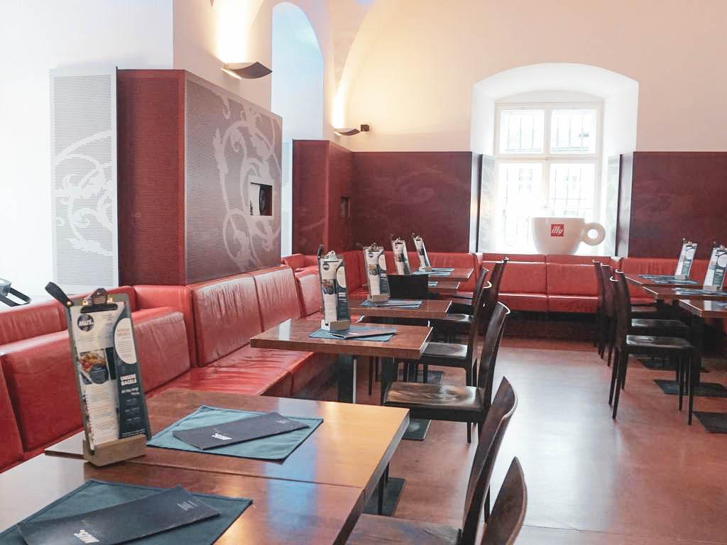 MUS Café Museum Inneraum
