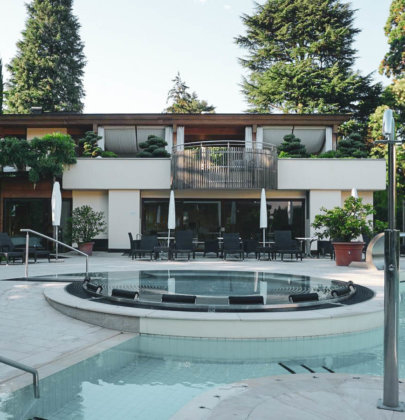 Luxus-Auszeit in Meran; das Park Hotel Mignon