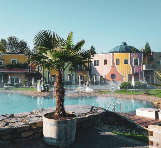 Rogner Bad Blumau ist nicht nur Baden wie im Meer