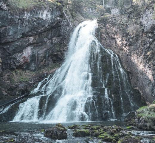 Wandern im Tennengau; zum Gollinger Wasserfall und an den Egelsee