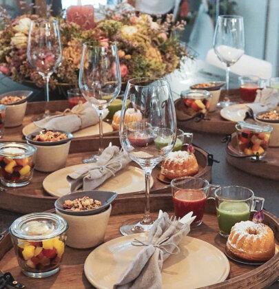Rosenfrühstück und andere Köstlichkeiten im Rosencafé