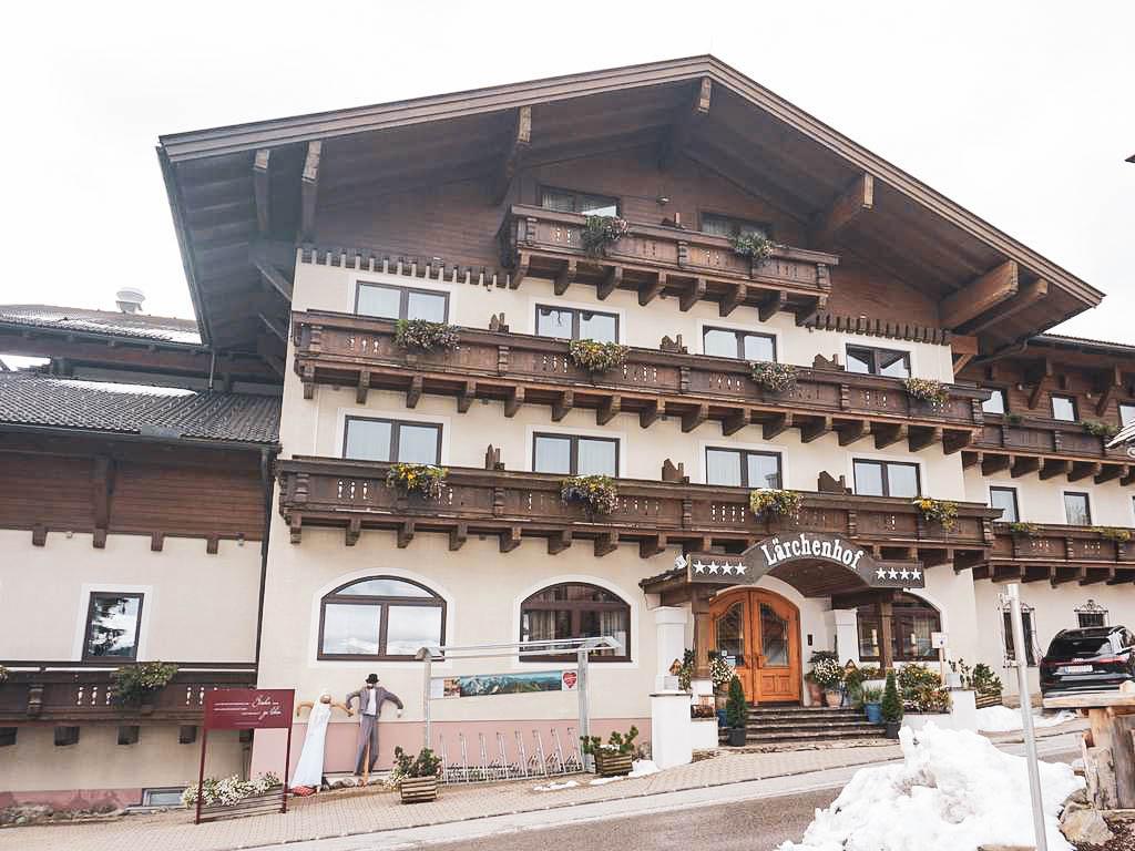 Hotel Lärchenhof Außenansicht