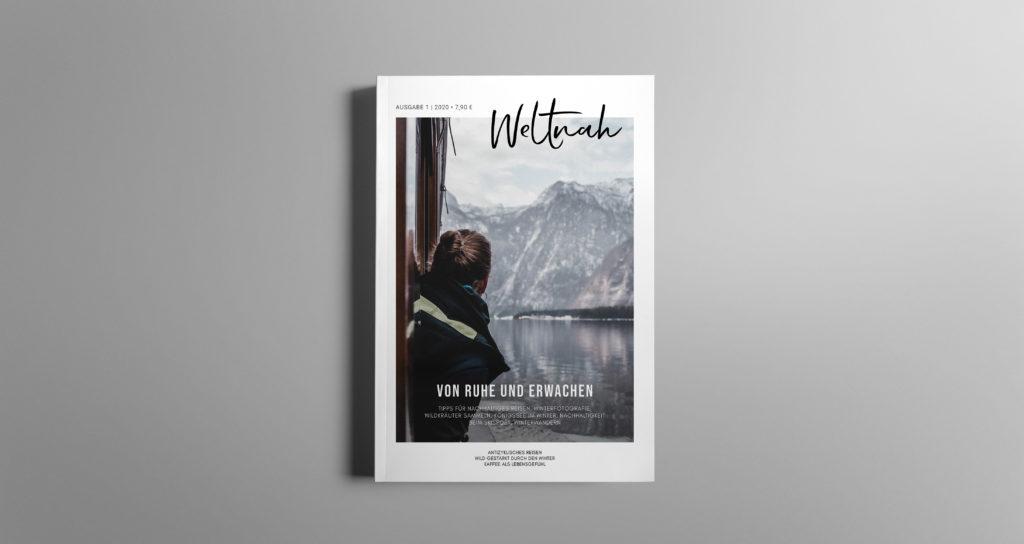 Cover eines Magazins für Nachhaltigkeit