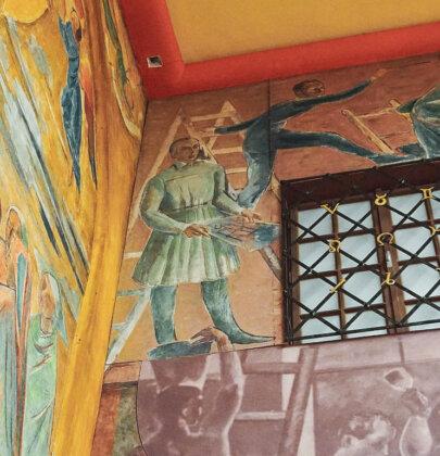 Die Wandbilder im Faistauer Foyer