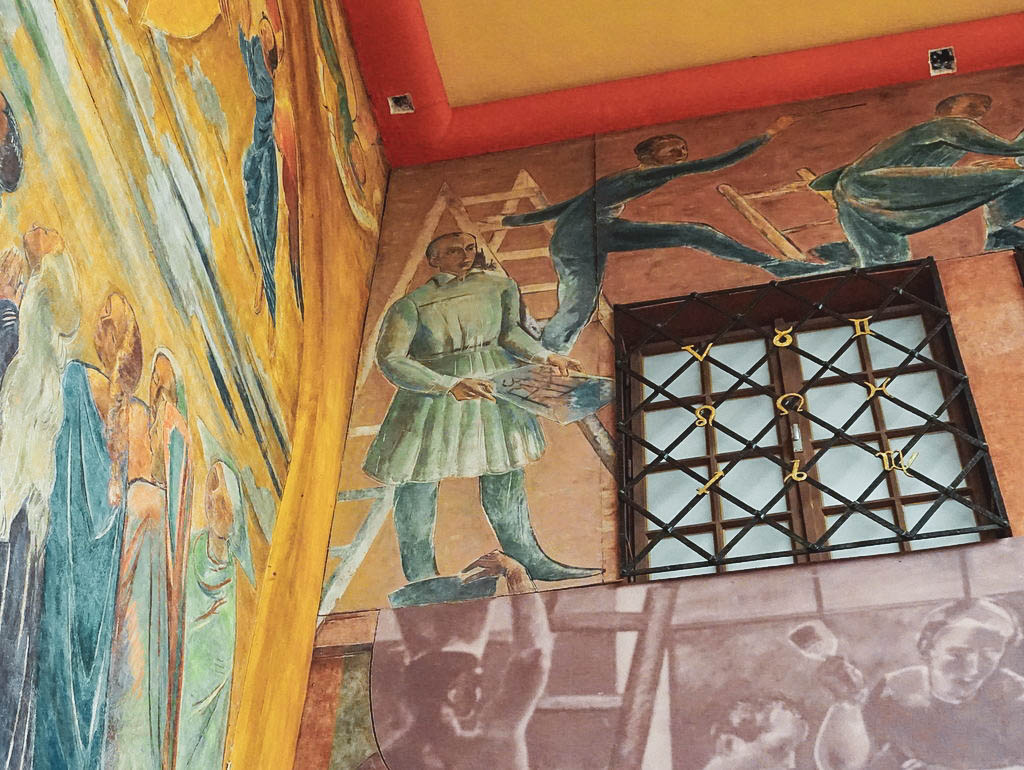 Wandmalerei von Faistauer