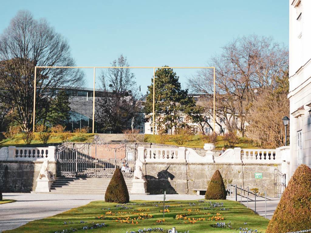 Portalrahmen im Mirabellgarten