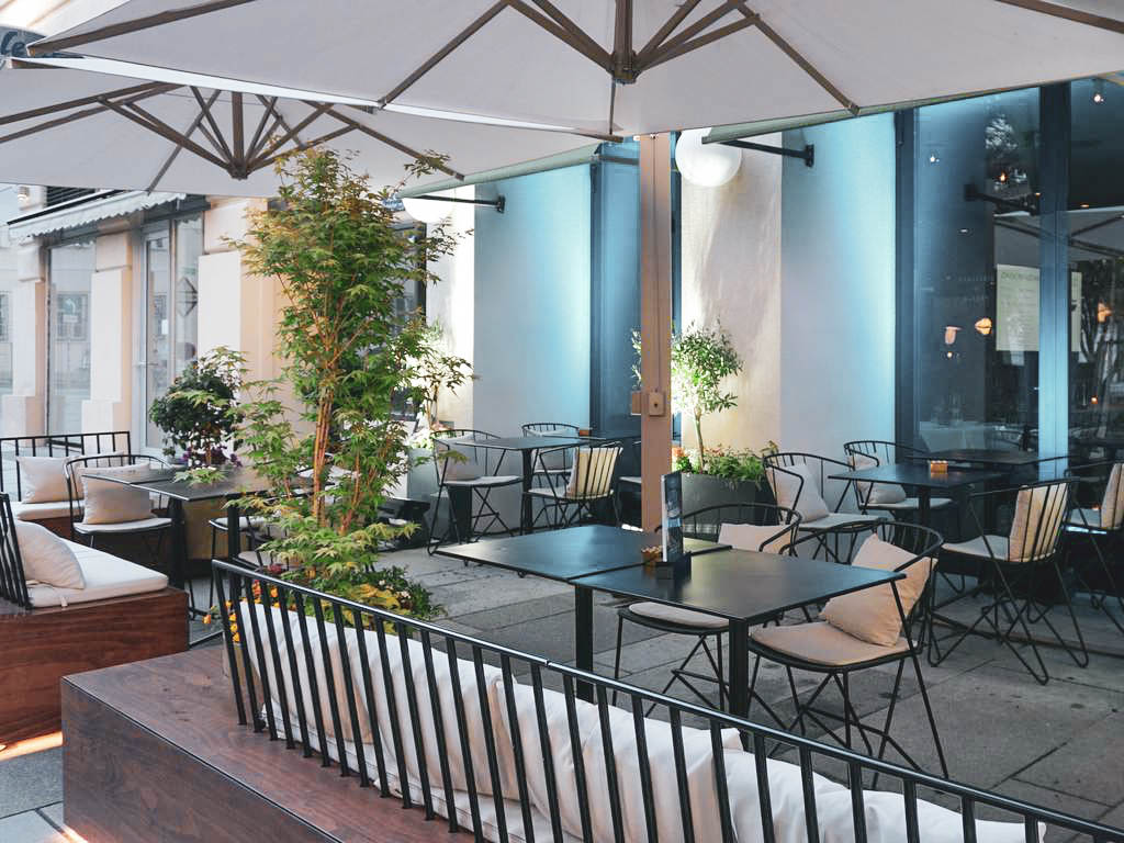 Terrasse The Guesthouse Vienna