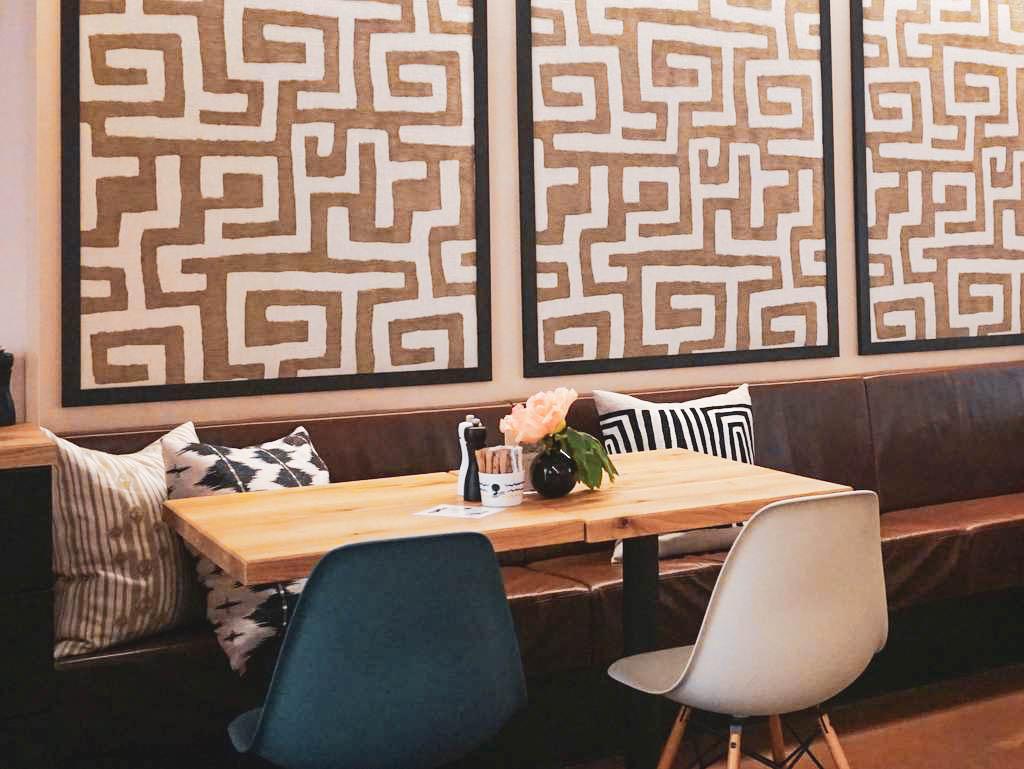 Innenbereich Afro Cafe