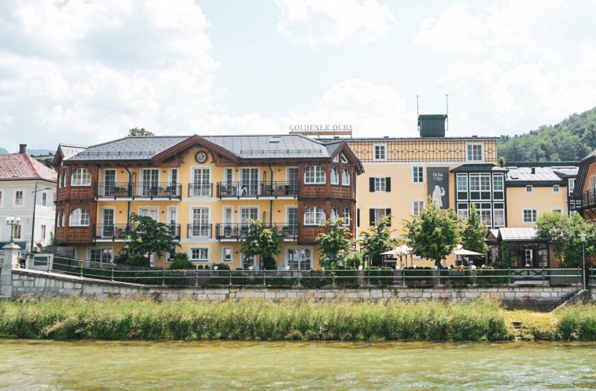 Sommer in Bad Ischl; Hotel Goldener Ochs und ein versäumtes Brückendinner