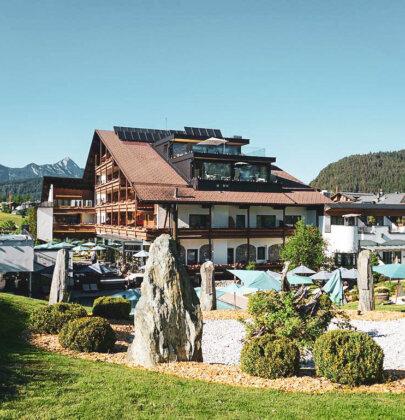 Sommerfrische in Seefeld; das Hotel & Spa Klosterbräu