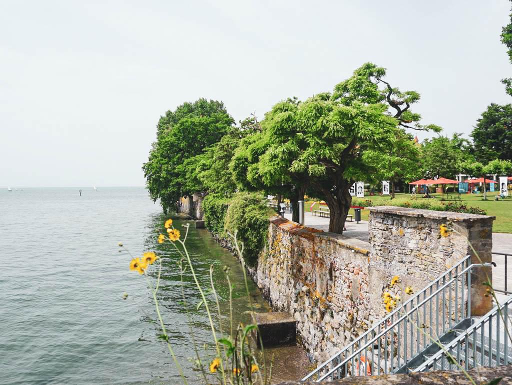 Gartenschau in Lindau Uferpromenade