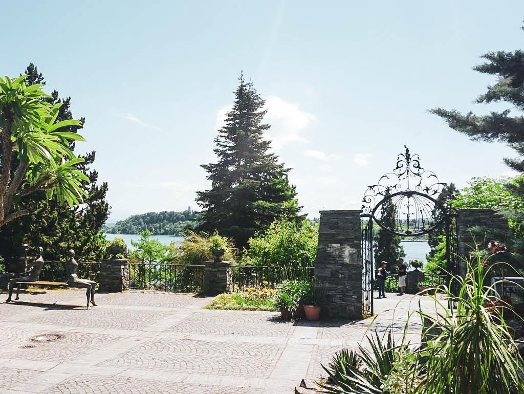Gartenbereich auf der Insel Mainau
