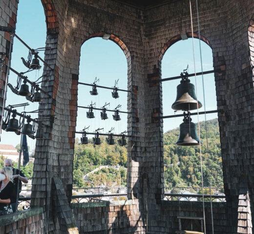 Das Salzburger Glockenspiel am Residenzplatz