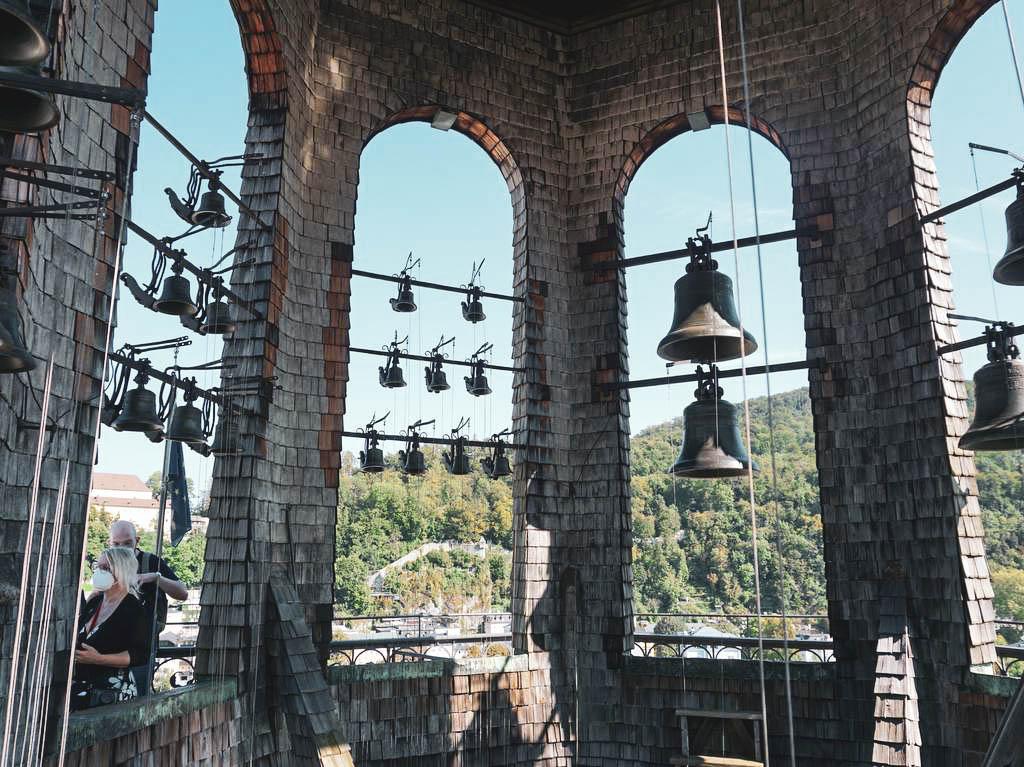 Glocken im Glockenspiel