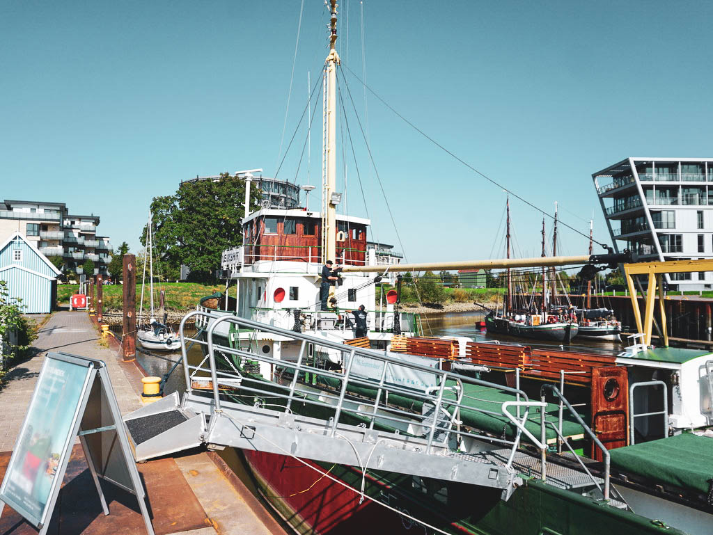 Museumsschiff MS GREUNDIEK