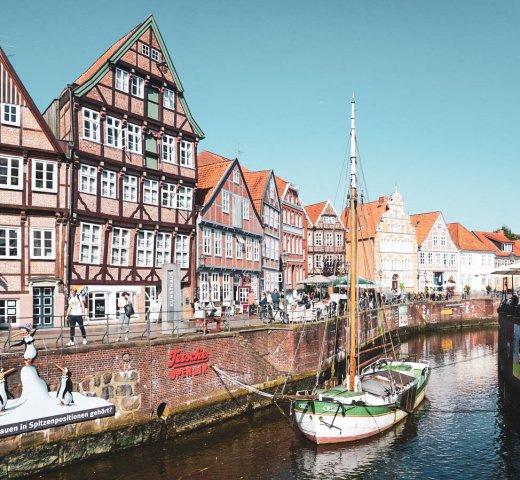 Tagesausflug nach Stade in der Metropolregion Hamburg